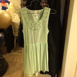 LF STORE Summer dress, great cutouts, mint green